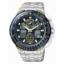 Citizen Stainless Steel Case Adult Watches with Chronograph