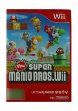 Platformer Nintendo Wii Video Games with Manual