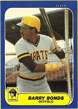Fleer Professional Sports (PSA) Original Lot Baseball Cards