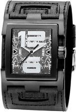 Silber Armbanduhren mit 12-Stunden-Zifferblatt und 50 m (5 ATM)