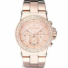 Michael Kors Luxury Round Wristwatches with Chronograph