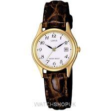 Runde Quarz - (Batterie) Armbanduhren mit Datumsanzeige