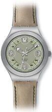 Sportliche Swatch Quarz - (Batterie) Armbanduhren für Damen