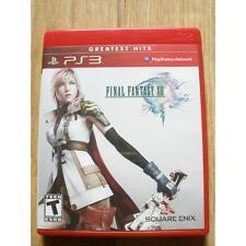 Jeux vidéo manuels inclus pour Sony PlayStation 3 Square Enix