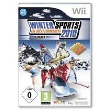 Sports Nintendo Wii Skiing/Snowboarding PAL Video Games