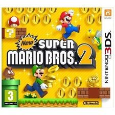 New Super Mario Bros. 2 Nintendo 3DS 3+ Rated Video Games