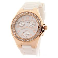 Stainless Steel Case Women's Casual Watches with Chronograph