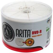 Arita 4.7 GB Storage Capacity Blank Computer DVD-Rs-ray Discs