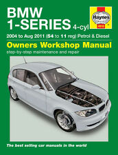 BMW 1 Serie 116I 118I 120D E81 E82 E87 Gasolina Diesel 2004-11 Haynes Manual