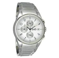50 m (5 ATM) Sportliche Armbanduhren aus Edelstahl mit Chronograph