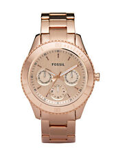 Stainless Steel Band Dress/Formal Fossil Analogue Watches