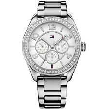 Tommy Hilfiger Quarz-Armbanduhren (Batterie) mit Silber