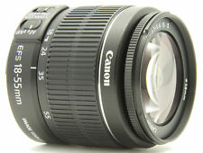 Canon EF-S Manual Focus Camera Lenses 18-55mm Focal