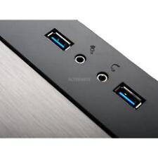 Silverstone Computergehäuse mit Mini-ITX Formfaktor und vorderen Anschlüssen USB