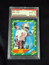 Rookie Topps Jerry Rice Modern (1970-Now) Football Cards