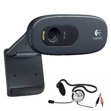 Logitech C270 USB Computer Webcams