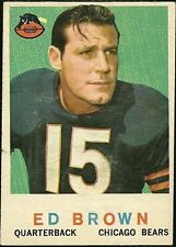 Topps Chicago Bears Original Single Football Trading Cards