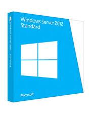 Englische Standard-Computer-Betriebssysteme mit Microsoft Windows Server 2012