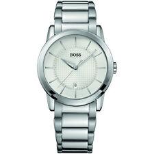 Runde HUGO BOSS Armbanduhren aus Edelstahl für Herren