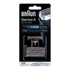 Braun Kombipack 51S  -silber- zu Braun activator 360° Serie 5 , 8585, 8795, 8588