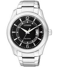 Analoge Citizen Armbanduhren aus Edelstahl mit Datumsanzeige