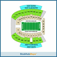 Lubbock TX Football Tickets