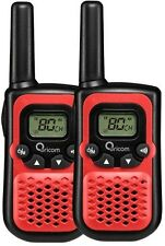 ORICOM PMR780 HANDHELD UHF TWO WAY COMPACT RADIO WALKIE TWIN PACK 80 CHANNEL RED