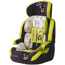 Boys & Girls Monsters Baby Car Seats