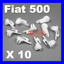FIAT 500 126 X19 DOOR CARD PANEL TRIM CLIPS FASTENERS LANCIA