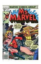 Ms. Marvel Bronze Age Avengers Comics Not Signed