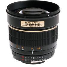 Samyang Camera Lenses for Sony A 85mm Focal