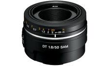 Sony An Auto & Manual Focus Fixed/Prime Camera Lenses