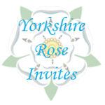 Yorkshire Rose Invites