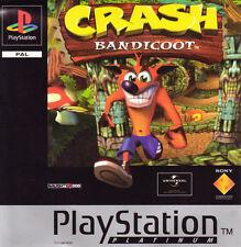 Crash Bandicoot Sony PlayStation 1 Video Games