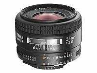 Nikon AF Fixed/Prime Focal 35mm Camera Lenses