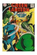 Ungraded Silver Age Green Lantern Comics Not Signed