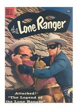 Lone Ranger Uncertified Silver Age Western Comics
