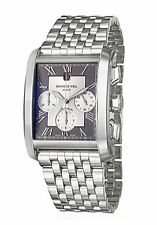 Stainless Steel Band Rectangle Wristwatches