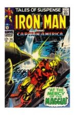 Marvel Uncertified 5.0 VG/FN Silver Age Iron Man Comics