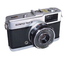Olympus Manual Focus Compact Film Cameras with Timer