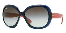 Ray-Ban Women Black Round Unisex Sunglasses