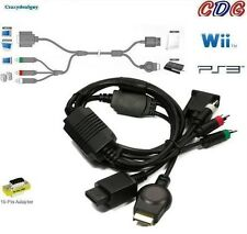 Wii - Original Video Game AV Cables