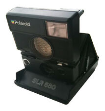 Polaroid Film Cameras with Built - in Flash