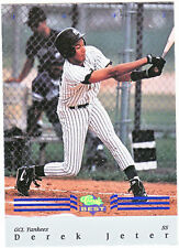 Derek Jeter Rookie Original Single Baseball Cards