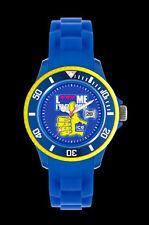Runde Quarz - (Batterie) Armbanduhren mit Kunststoff-Armband und Mineralglas
