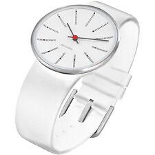 Unisex 30 m (3 ATM) wasserbeständige Armbanduhren mit Silber-Armband