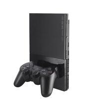 Consoles de jeux vidéo noirs PlayStation 2-Slim PAL