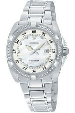 Seiko Women's Stainless Steel Quartz (Battery) Wristwatches