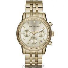 Polierte Armbanduhren mit Chronograph für Damen