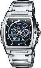 100 m (10 ATM) Quarz-(Batterie) Armbanduhren aus Edelstahl mit Gebürstet